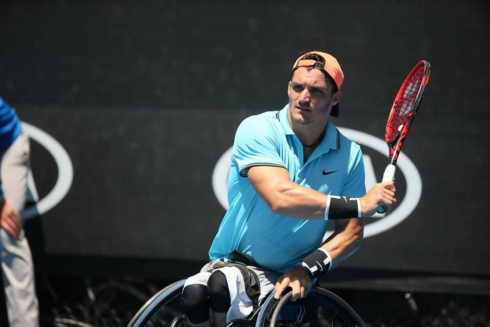 Tenis adaptado: ¡Gustavo Fernández, finalista del Abierto de Australia!