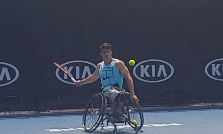 Tenis adaptado: Gustavo Fernández, listo para el Abierto de Australia