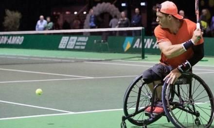 Tenis adaptado: Gustavo Fernández llegó hasta semifinales en Rotterdam