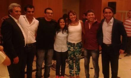 Atletismo: Yanina Martínez y su entrenador dieron una charla en San Juan