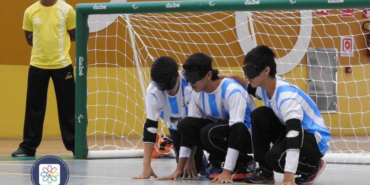 Goalball: selecciones argentinas en Chile y en Brasil