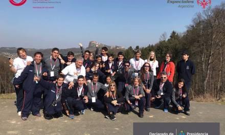 Olimpiadas Especiales: once medallas argentinas en los Juegos Mundiales de Invierno