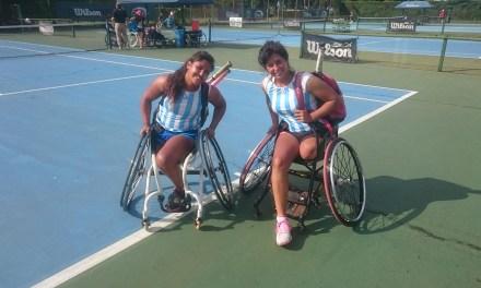 Tenis adaptado: Pralong y Moreno compiten en Ecuador