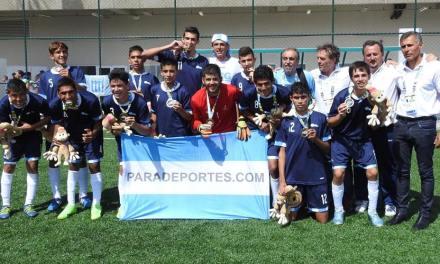 Fútbol 7: Argentina ganó el clásico y se quedó con la gloria