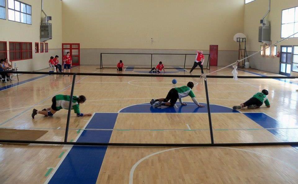 Torball: comienza el Torneo Apertura en el Instituto Román Rosell