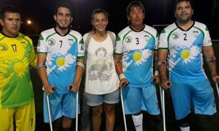 El fútbol para amputados y una exhibición en Chaco
