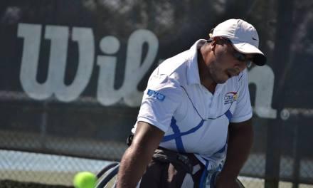 Tenis adaptado: Ledesma, subcampeón en Chile