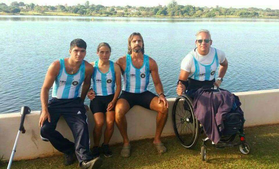 Remo: dos medallas plateadas en el Sudamericano