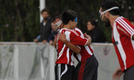 Fútbol para ciegos: River le ganaba a Boca y el Superclásico se suspendió por falta de luz