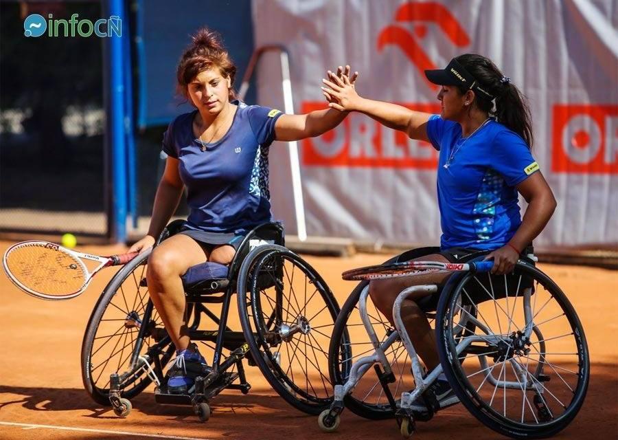 Tenis adaptado: Moreno y Pralong, finalistas en Polonia