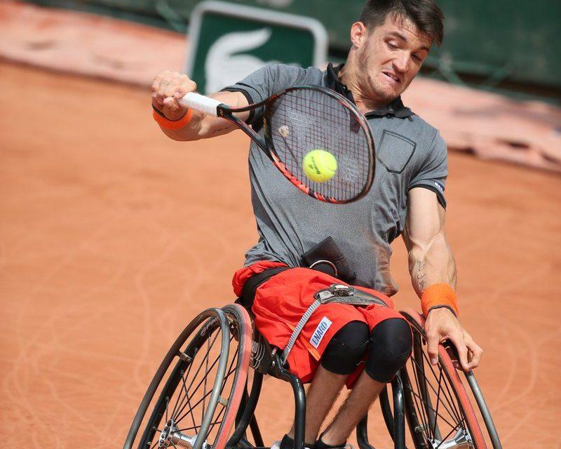 Tenis adaptado: Gustavo Fernández, subcampeón de Roland Garros