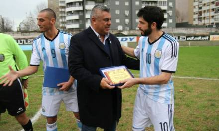 Fútbol para sordos: la Selección se despidió en Ferro