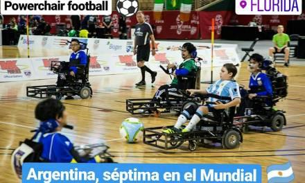 Powerchair football: Argentina, séptima en el Mundial