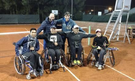 Tenis adaptado: Camusso y Gorosito, los primeros campeones del Paradeportes AATA Tour