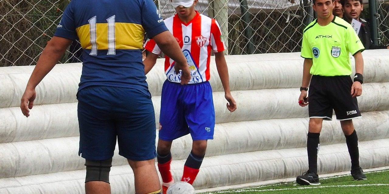Fútbol para ciegos: Paradeportes Cañuelas FC y un histórico triunfo frente a Boca