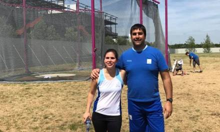 Mundial de atletismo: Florencia Romero, top five en lanzamiento de disco en Londres