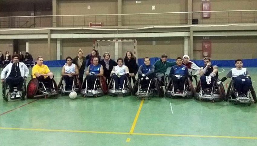 Quad rugby: la Selección Argentina y una exhibición en el Romero Brest