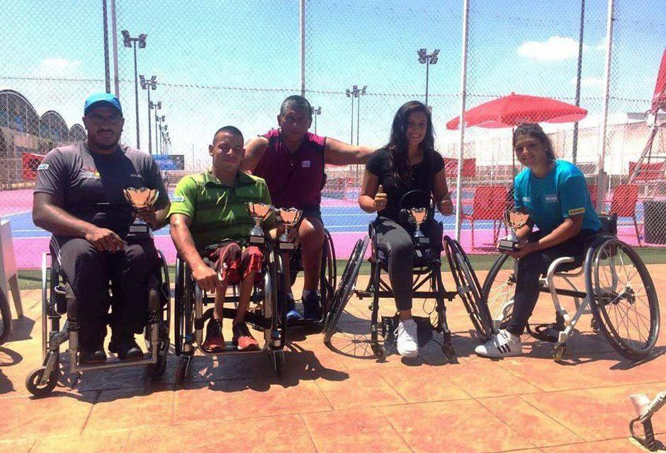 Tenis adaptado: Ezequiel Casco, subcampeón en Madrid
