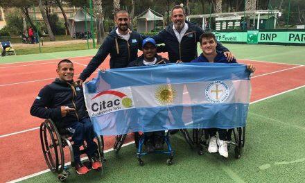 Tenis adaptado: una gira de tres meses con puro crecimiento para los argentinos