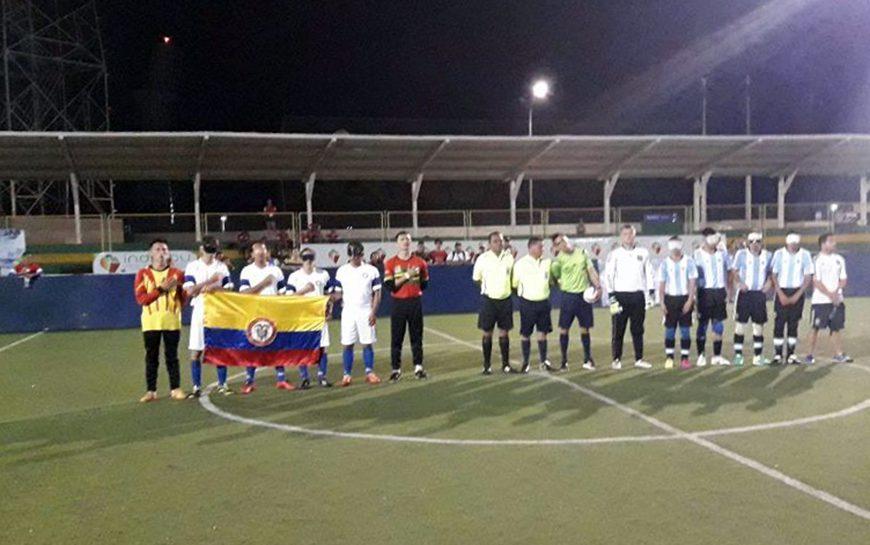 Fútbol 5 para ciegos: Argentina, subcampeón en Colombia