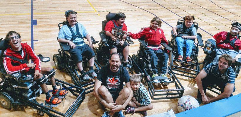 Powerchair football: arranca la Liga Nacional