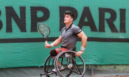 Tenis adaptado: Gustavo Fernández, finalista en Saint Louis