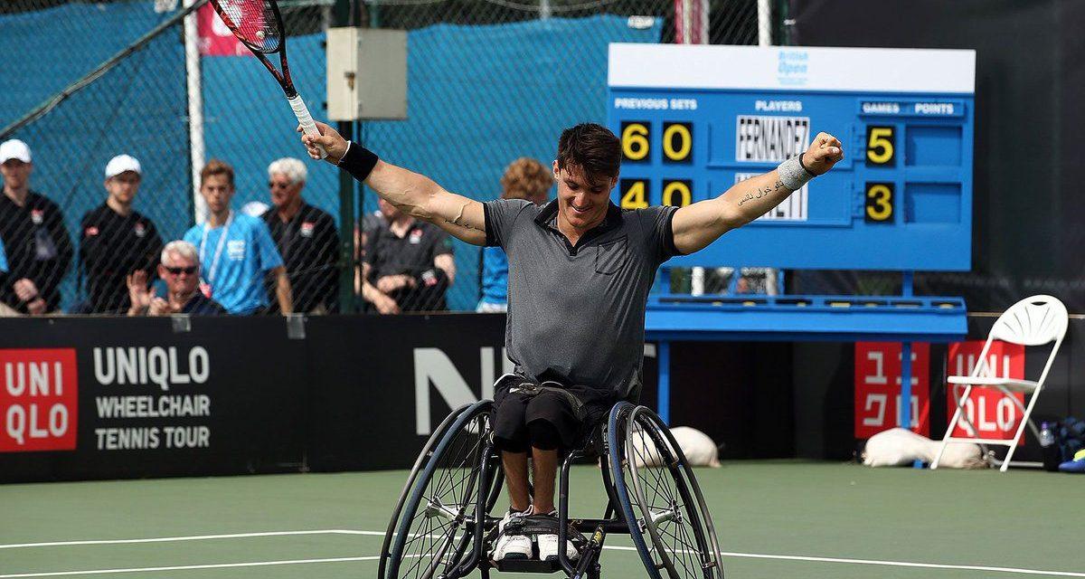 Gustavo Fernández, nominado a atleta paralímpico americano del mes de agosto