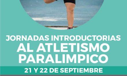 Jornadas introductorias al atletismo paralímpico en Bariloche