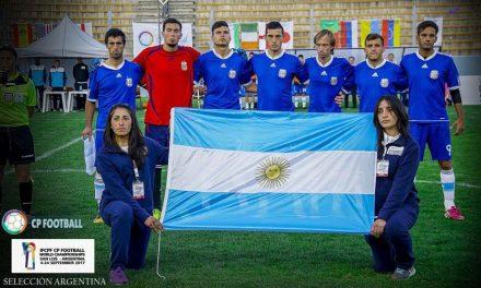 Fútbol 7: Argentina sufrió la potencia de Rusia