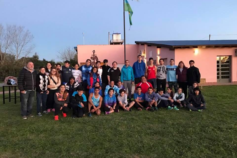 Atletismo: la Selección Argentina se concentró en Tapalqué