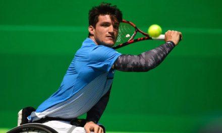 Tenis adaptado: Gustavo Fernández, semifinalista en Saint Louis