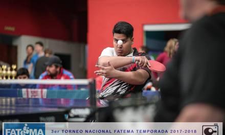 Tenis de mesa adaptado: Romero y Eberhardt se adelantan en el Open Nacional
