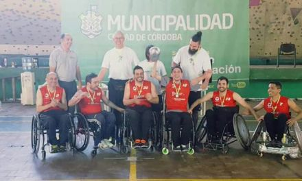 Quad rugby: Dogos festejó en Córdoba
