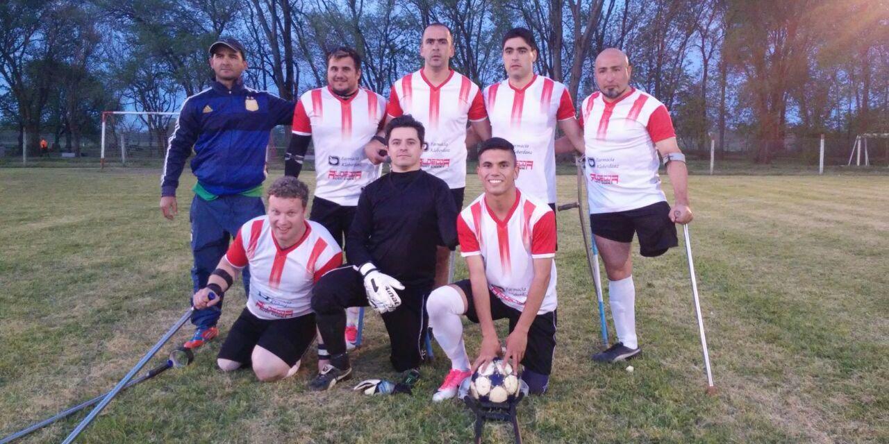 Fútbol para amputados: Córdoba, Rosario y Mendoza se reparten la punta