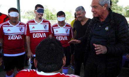 """Rodolfo D'Onofrio a Paradeportes: """"Desde River apoyamos a todos los deportes paralímpicos"""""""