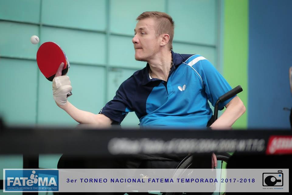 Tenis de mesa adaptado: se confirmó la Copa Tango de Buenos Aires