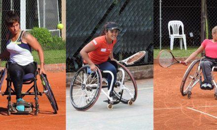 Tenis adaptado: Pralong, Moreno y Dhers, campeonas en Chile