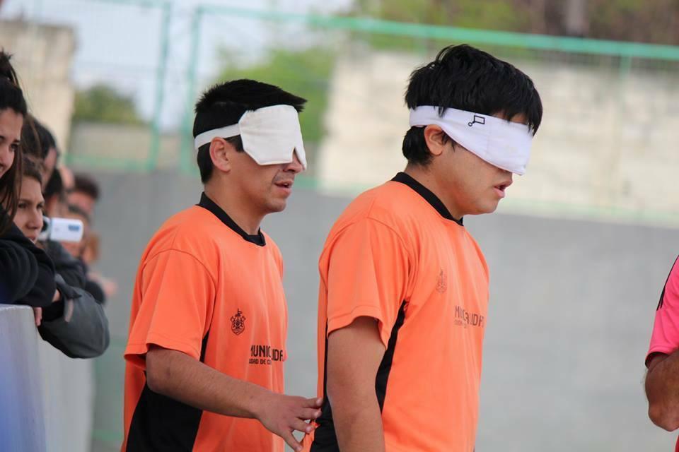 Fútbol para ciegos: Municipalidad de Córdoba, líder de la Zona Centro