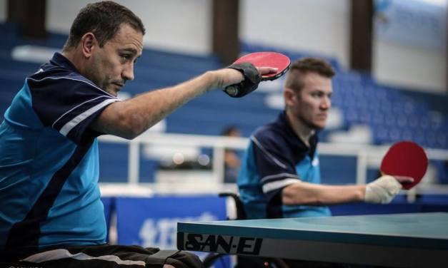 Tenis de mesa adaptado: ocho medallas por equipos en la Copa Tango