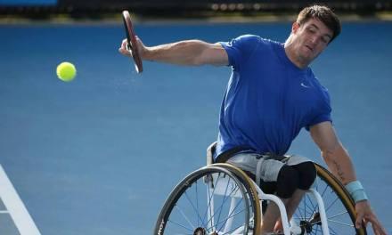 Tenis adaptado: Gustavo Fernández se despidió del Masters de dobles en semifinales