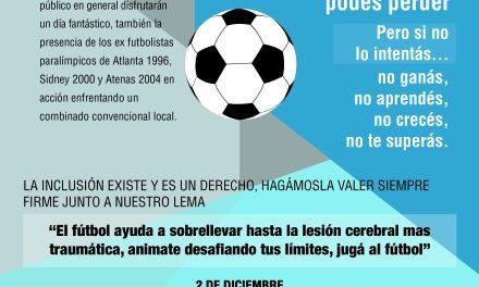 Fútbol 7: encuentro en Balcarce