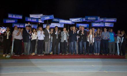 Los Juegos Nacionales Evita del deporte adaptado tuvieron su ceremonia inaugural