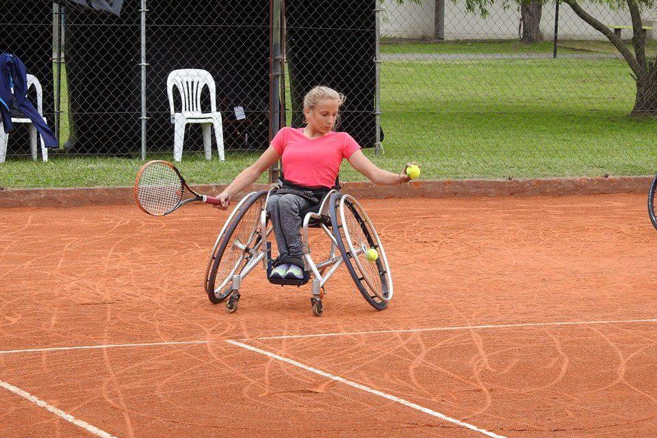 Tenis adaptado: Nicole Dhers se metió en el top 100