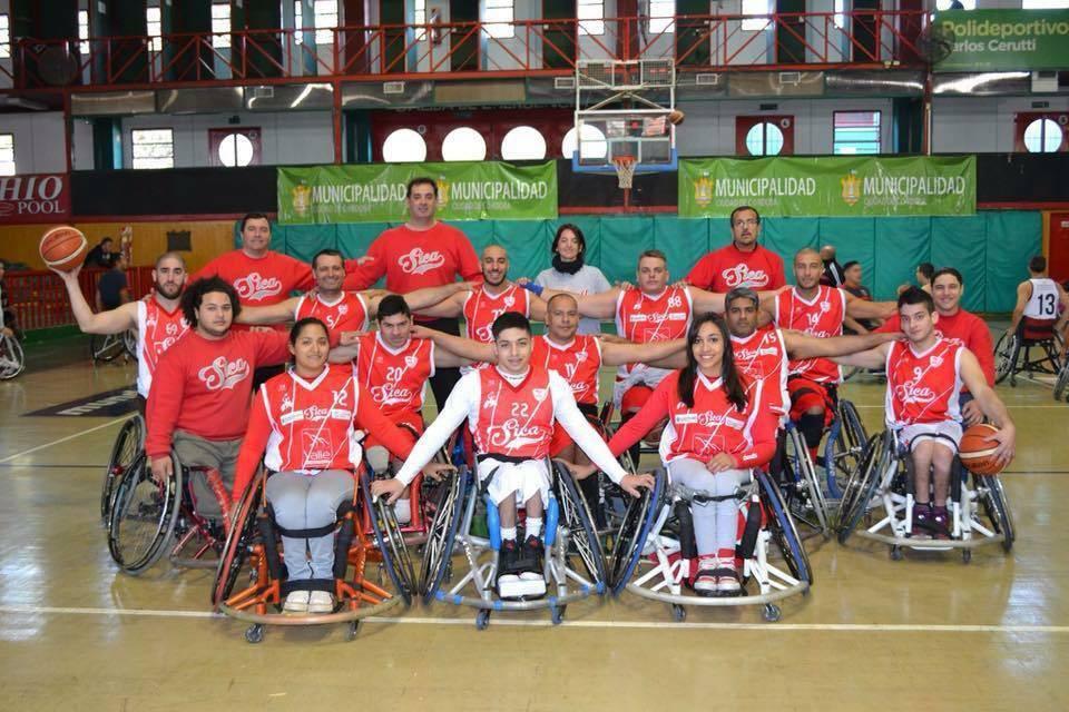 Básquet en silla de ruedas: se viene el cuadrangular final de la Liga Nacional