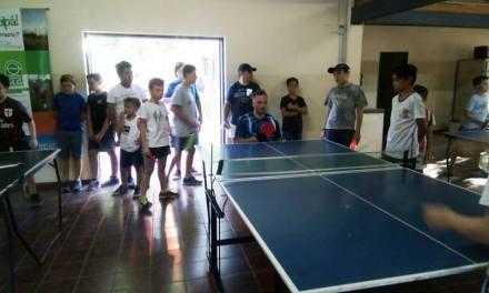 Tenis de mesa adaptado: muestra en Mendoza