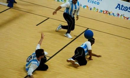 Goalball: histórico cuarto puesto de la Selección Argentina