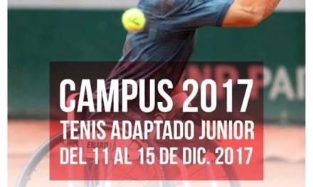Tenis adaptado: comenzó el Junior Camp en Vicente López