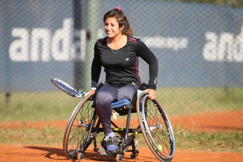 Tenis adaptado: buen arranque para Antonella Pralong en el Masters Juvenil