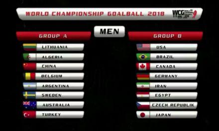 Goalball: Argentina ya conoce a sus rivales para el Mundial Suecia 2018
