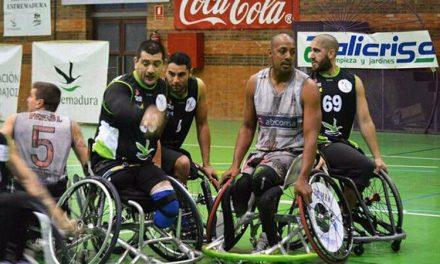 Básquet en silla de ruedas: El Mideba Extremadura de Villafañe y Gabas sigue de racha en España